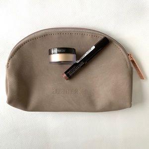 🆕 Laura Mercier Makeup Bag With Deluxe Samples